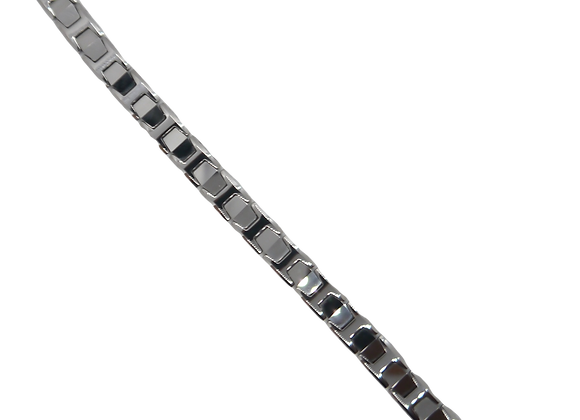 Unisex Tungsten Bracelets: Silver