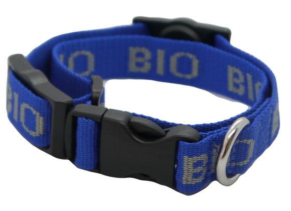 Magnetic Dog Collar: Blue (Medium)
