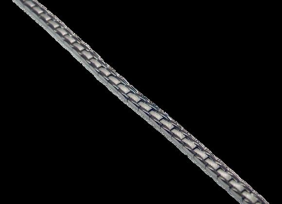 Ladies Stainless Steel Bracelets: Silver