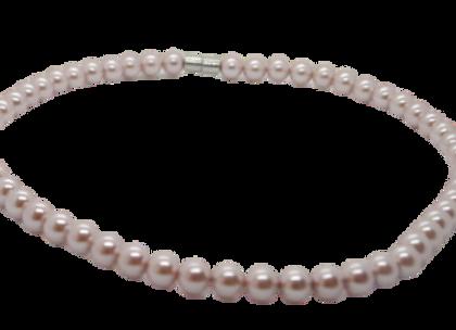 Ladies Magnetic Necklaces: Pink