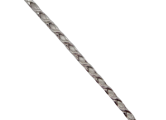 Ladies Titanium Bracelets: Silver