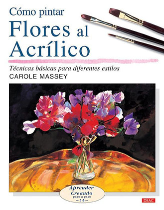 Flores al acrílico