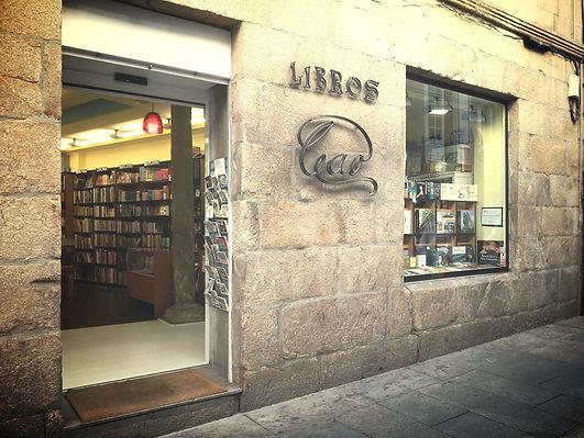 Fachada librería principal