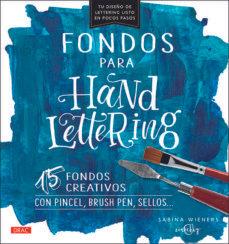 Fondos para hand lettering