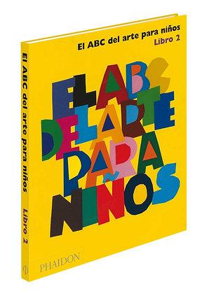 ABC del arte para niños - libro amarillo