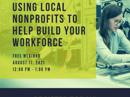 August 17: NonProfits Can Help Build Workforce
