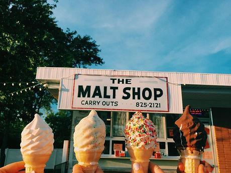 Fenton Malt Shop Ice Cream Cones