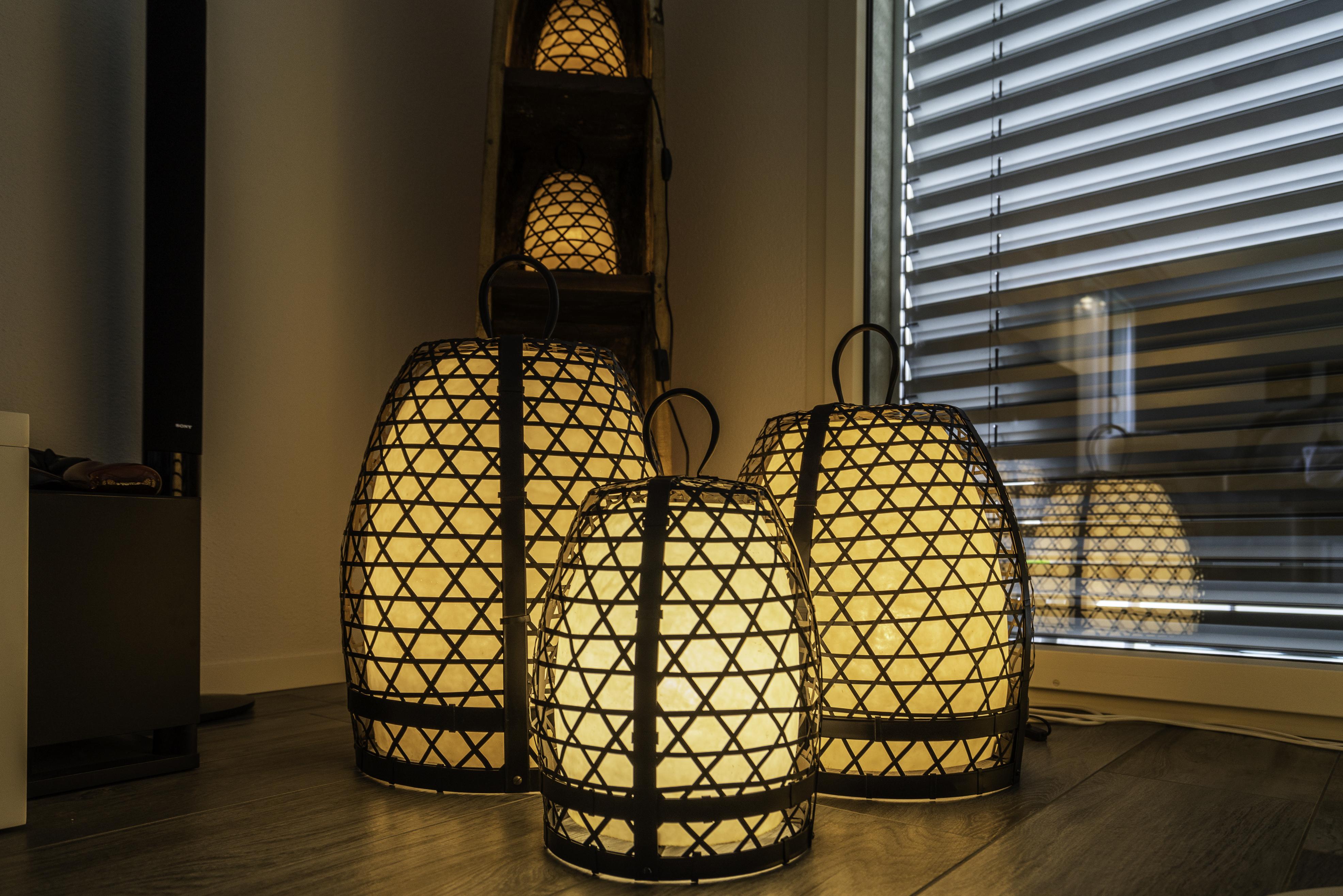 Stehlampe Chicken Cage L/M/S