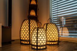 Kupferlampe Chickencage