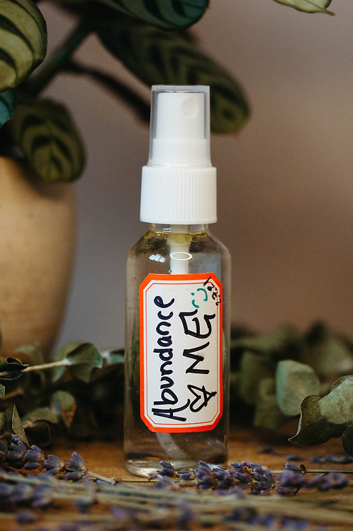 Abundance Me ** Clearing/Uplifting Sprays For You & Your Space
