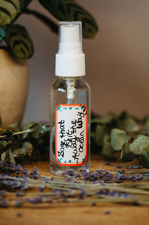 Sage That Sh** Away ** Clearing & Uplifting Sprays For You & Your Space