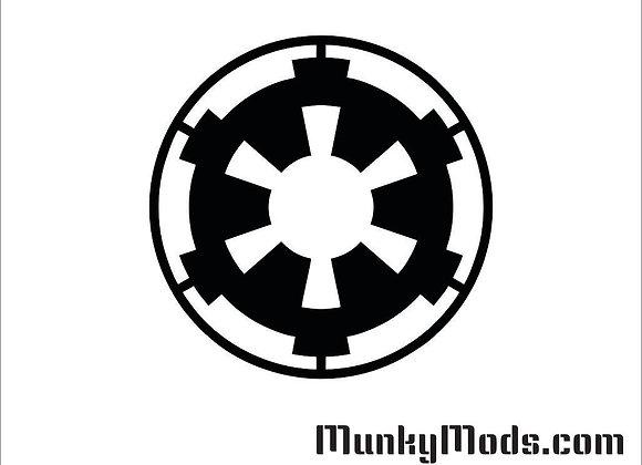 Star Wars - Galactic Empire Vinyl Decal / Applique - Large