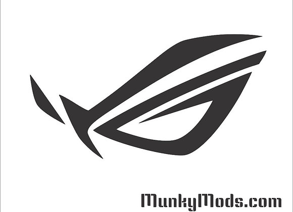 Asus ROG Logo Decal / Applique - Large