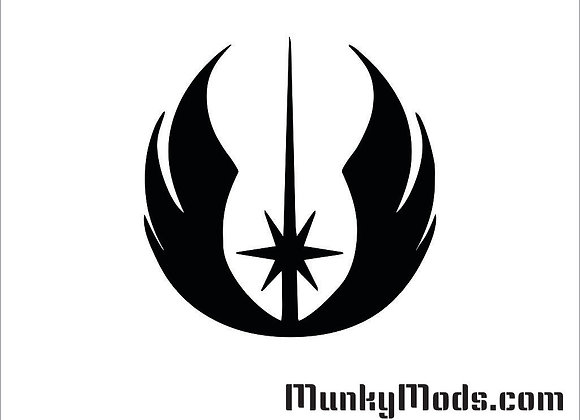 Star Wars - Jedi Order Vinyl Decal / Applique - Large