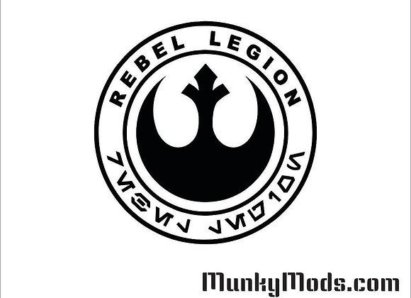 Star Wars - Rebel Legion Vinyl Decal / Applique - Large