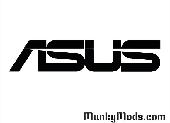 ASUS Text Logo Decal / Applique - Large