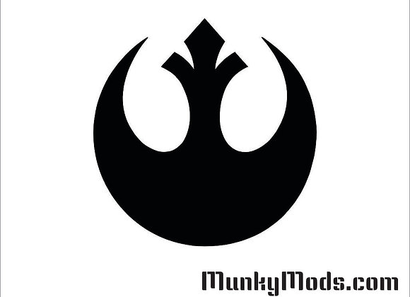 Star Wars - Rebel Alliance Vinyl Decal / Applique - Large