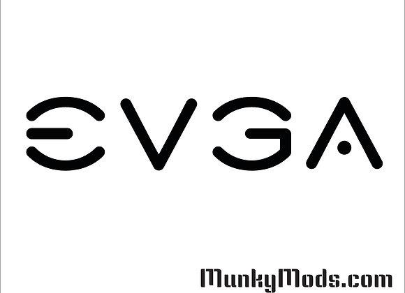 EVGA Logo Vinyl Decal / Applique - Large