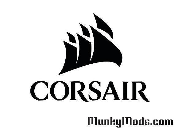 Corsair Logo w/Sails Decal / Applique - Large