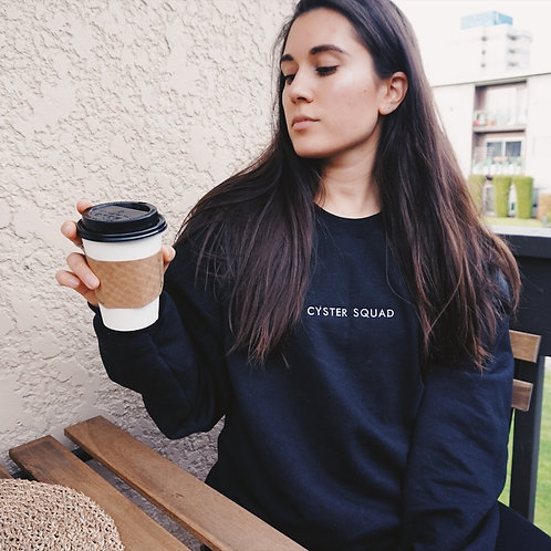 Black Cyster Squad Sweater