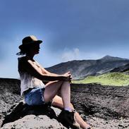 at Mt. Etna