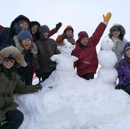 snowmen at the avanto