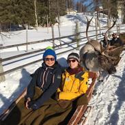 Reindeer Sled Ride