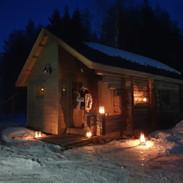 smoke sauna cottage