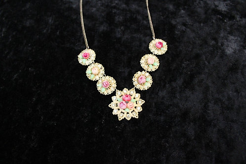 70s Victorian-Style Pendant Necklace