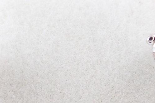 14CT WHITE GOLD DIAMOND STUD EARRINGS