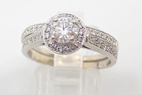2 X 14CT DIAMOND RINGS
