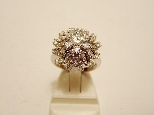 18CT DIAMOND COCKTAIL RING