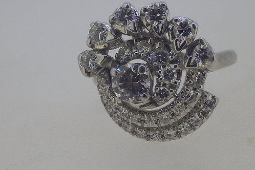 14CT DIAMOND RING