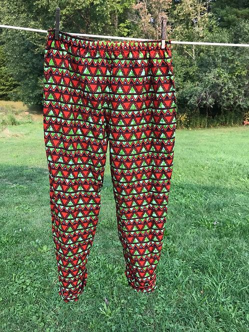 Kitenge Lazy Pants