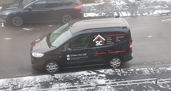Southside Contracts Van