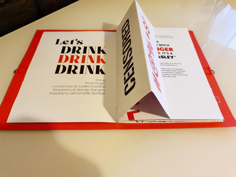 Drinks Fold