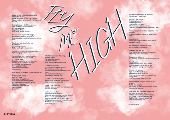 Fly Me High Poem