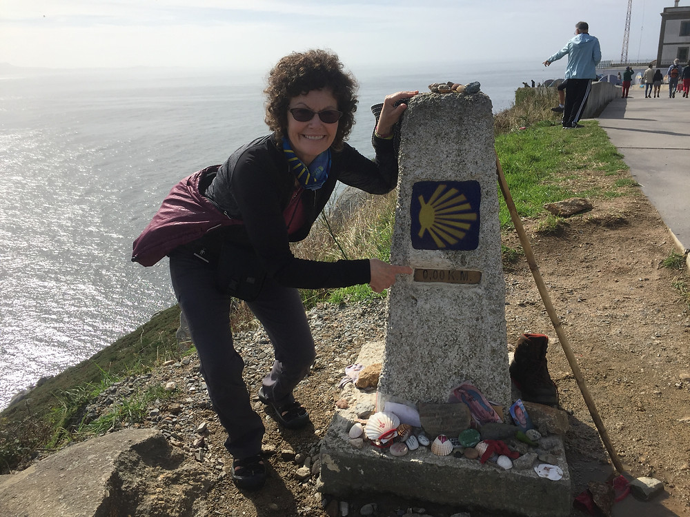 Zero Kilometer- End of the earth Finisterre, Spain