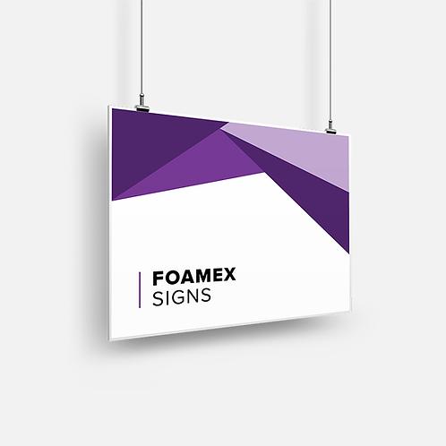 Foamex Signs