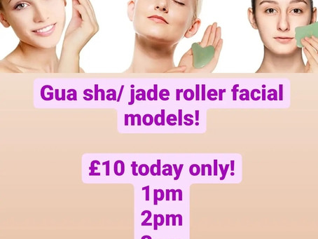 Facial models today!