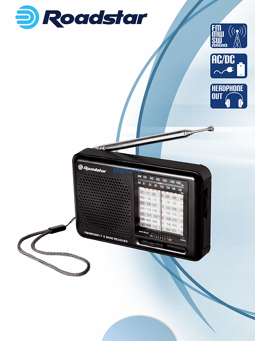 Roadstar portable radio