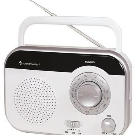 Soundmaster portable radio