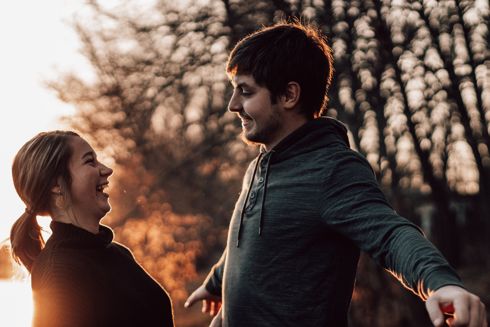 Morgan and Preston