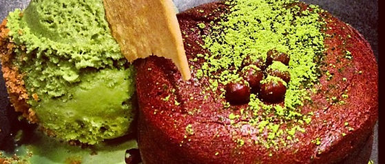 Close Up Matcha Lava Picture