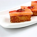 Crispy rice with salmon