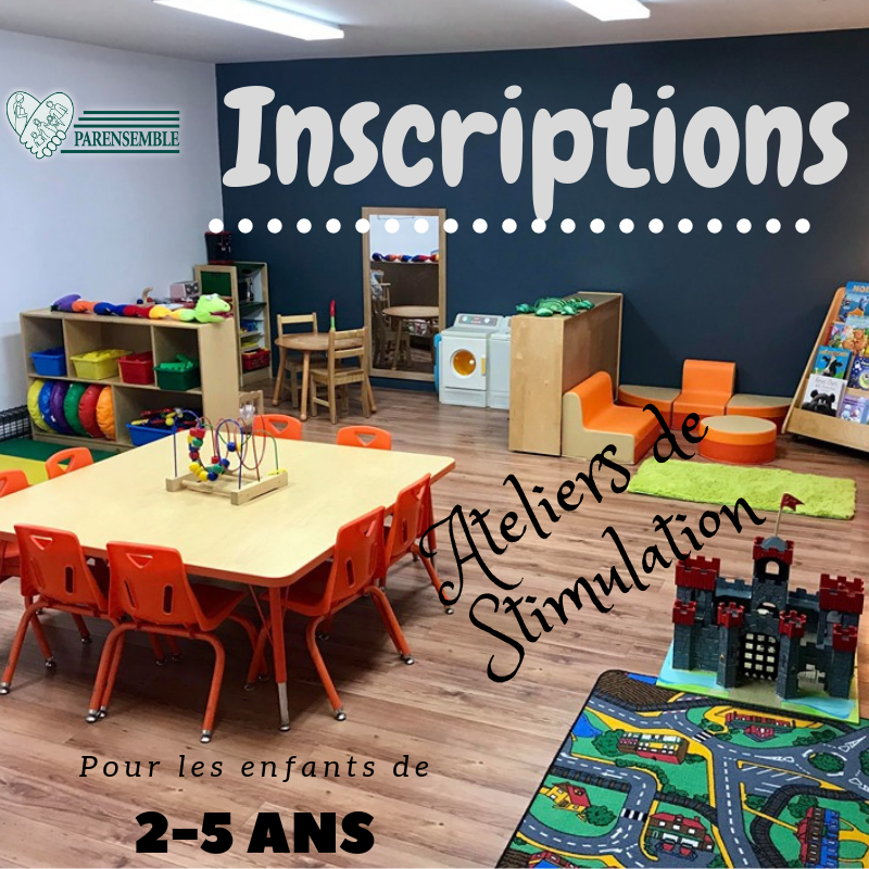 Inscription 2-5 ans