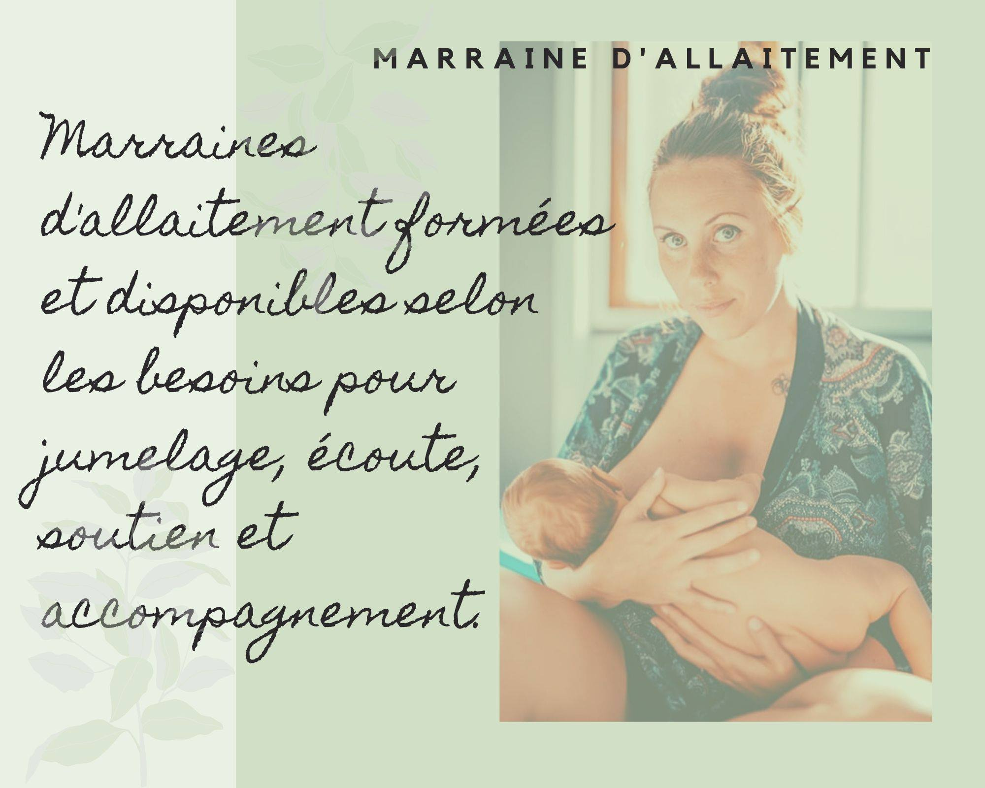 Marrained'allaitement