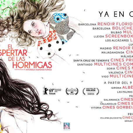 EL DESPERTAR DE LAS HORMIGAS - Una película de Antonella Sudasassi - CINES DE ESTRENO