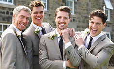 Grooming for grooms, wedding party waxing and grooming