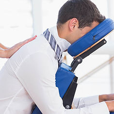 Mobile massage services at work Peterborough
